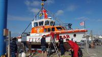 """Bild 0 von Rettungsboot """"Hans Dittmer"""" wurde an Land gesetzt"""