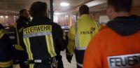 """Bild 1 von Feuerwehrübung auf """"Frisia II"""" bei Werftaufenthalt"""