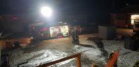 """Bild 3 von Feuerwehrübung auf """"Frisia II"""" bei Werftaufenthalt"""