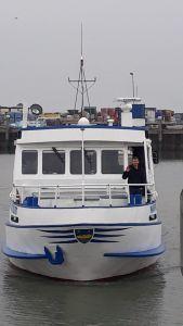 Bild 0 von Herzi fuhr noch einmal seine Wappen in ihren Heimathafen