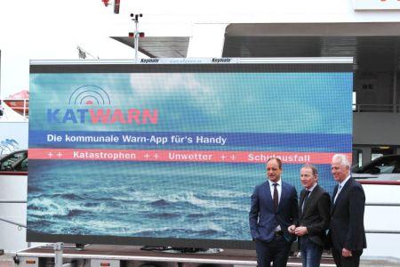Bild 0 von AG Norden-Frisia integriert die Katastrophen-Warn-App KATWARN