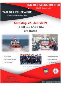 Bild 0 von Seenotretter und Feuerwehr wieder gemeinsam am Hafen