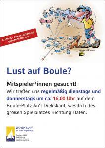 Bild 0 von Boule-Zeiten bei der Juist-Stiftung geändert