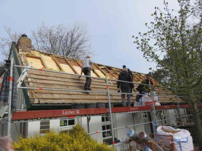 """Bild 0 von Insulanerhaus """"Siebje"""" erhält eine neue Dacheindeckung"""