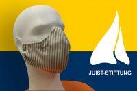 Bild 0 von Juist-Stiftung beendete Projekt des Nähens von Schutzmasken