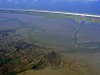 Bild 4 von Aktuelle Luftbilder vom Juister Hafen und dem Watt