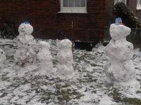 Bild 7 von Endlich fiel auf Juist mal wieder Schnee