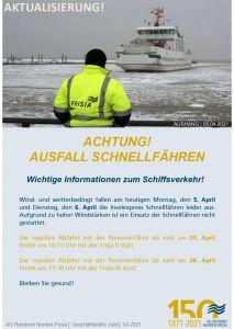 Bild 0 von UPDATE: Auch am Dienstag keine Schnellfähren