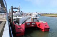 """Bild 7 von Reederei Frisia führt Testfahren mit Katamaran """"Adler Rüm Hart"""" durch"""