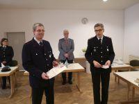 Bild 1 von Wilhelm Arneke ist 70 Jahre Mitglied in der Juister Feuerwehr