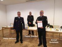 Bild 2 von Wilhelm Arneke ist 70 Jahre Mitglied in der Juister Feuerwehr