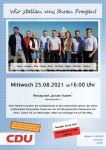 Bild 0 von Kommunalwahl 2021: Meinungsaustausch mit CDU-Kandidaten